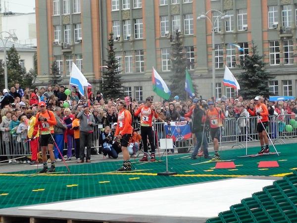 Искусственное покрытие Snowplast Россия